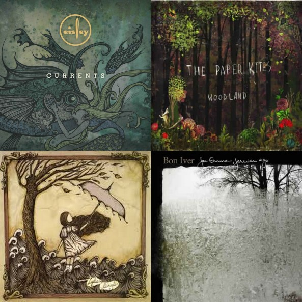 earth day music collage